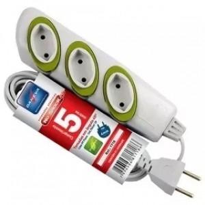 Extensão Elétrica Daneva 3 Tomadas 5m 2p+t No Shock