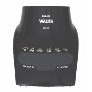Corpo Carcaça Preta para Liquidificador Philips Walita RI2044