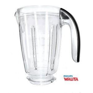 Copo Liquidificador Philips Walita RI2044, RI2081 c/ alça preta