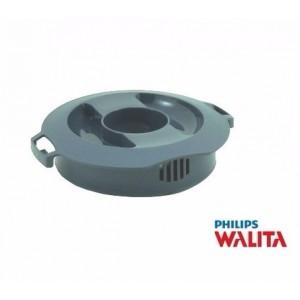 Tampa Cinza do Copo de Vidro para Liquidificador Philips Walita RI2054