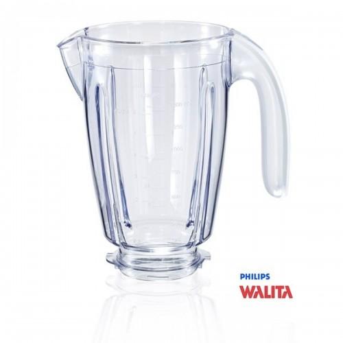 Copo Liquidificador Philips Walita HR2067, RI2044, RI2081 c/ alça branca