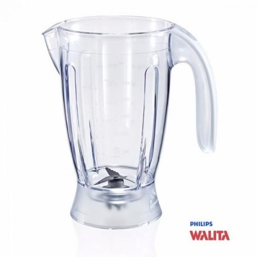 Copo com Trava para Liquidificador Philips Walita RI2034 Alça Branca