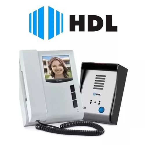 Vídeo Porteiro Eletrônico HDL Sense Light S com Visão Noturna